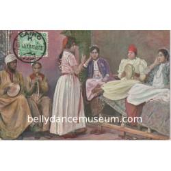 Arabische tänzerinnen - 1905