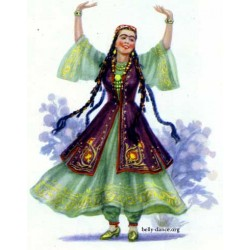 Dance of Tadzjikistan - 1920