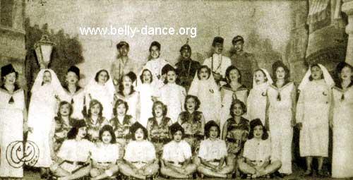 Badia Masabni troupe