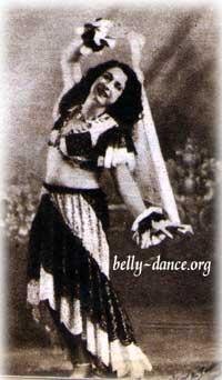 Badia Masabni dancing