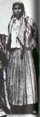 Gypsy woman 19th-century, Russia
