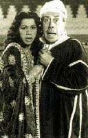 Fernandel and Samia Gamal
