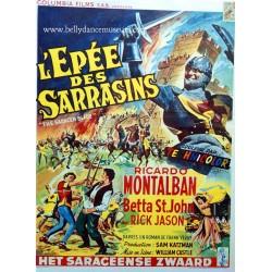 Vintage movie poster 1954