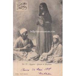 Danse et Musique - Egypt 1905