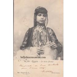 La belle Fatma - Egypt 1905