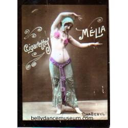 bellydancer trade card